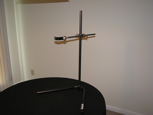 Flickr photo of a portable copy stand